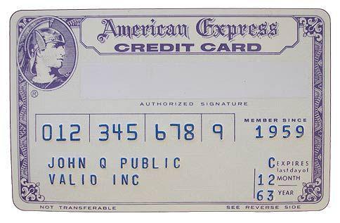 История American Express