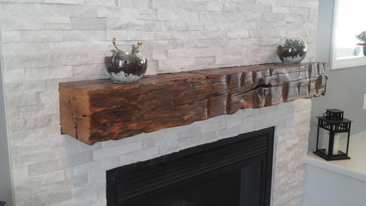 Fire Place & Mantel Remodel