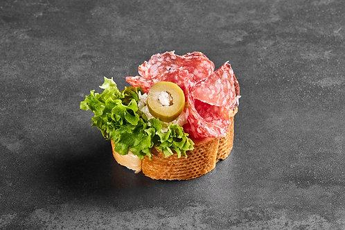 Brötchen mit Mailänder Salami -  8 Stück