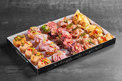 Gemischte KLASSIK-BOX, aus 5 Sorten zu je 5 Stück