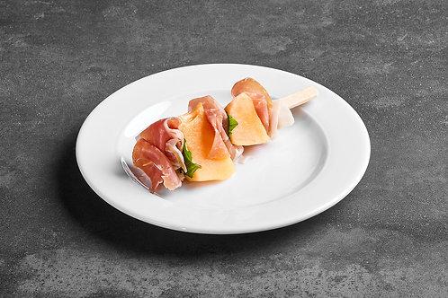 Parmaschinken Honigmelone Spieße -  10 Stück