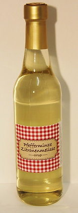 Pfefferminze/Zitronenmelisse Sirup 0.5l