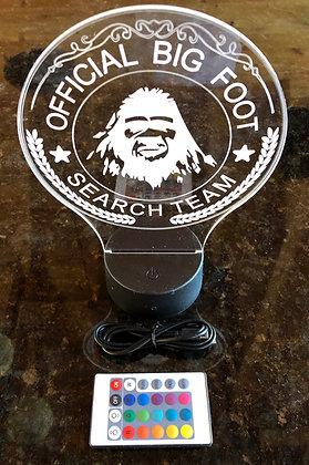 Official Bigfoot Search Team LED Light with Remote
