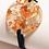 Thumbnail: Bracelet large rond plat Or Cuivre Bronze Argent