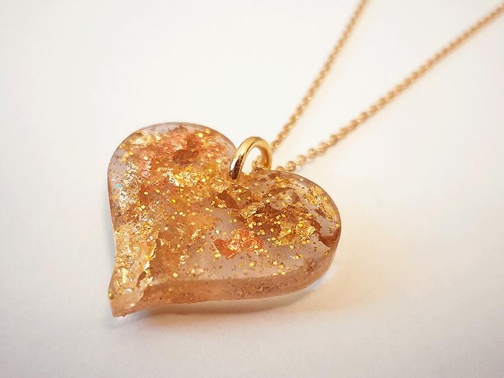 Coeur Or - Cuivre - Bronze