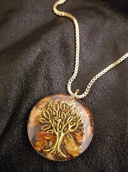 "Arbre de Vie antique ""Olivier"" Bronze 2,3 cm"