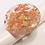 Thumbnail: Bague ronde plate Or Argent Cuivre 3 cm
