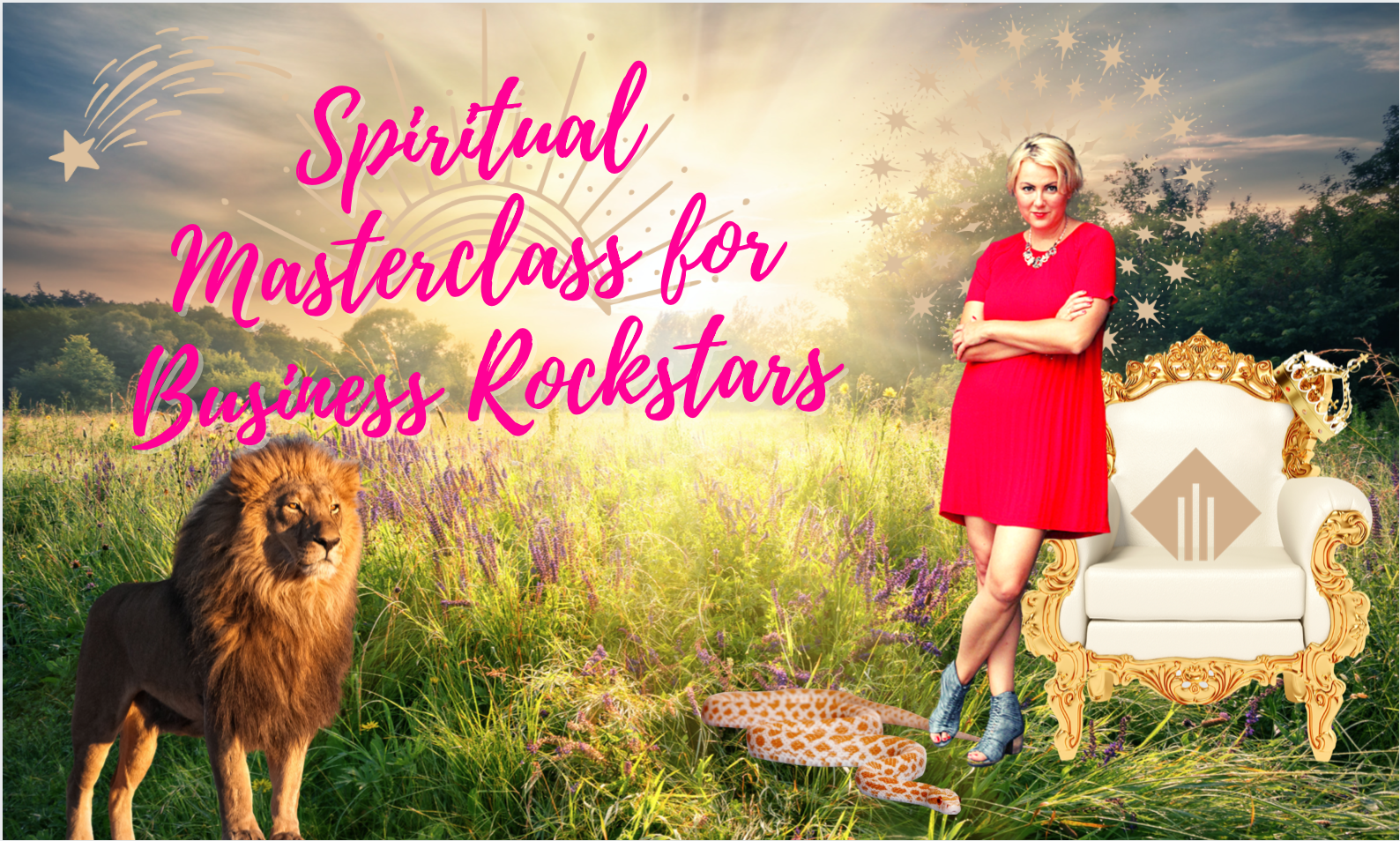 Welcome to my Spiritual Masterclass for Business Rockstars