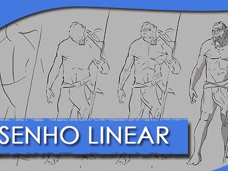 Desenho linear - Fases
