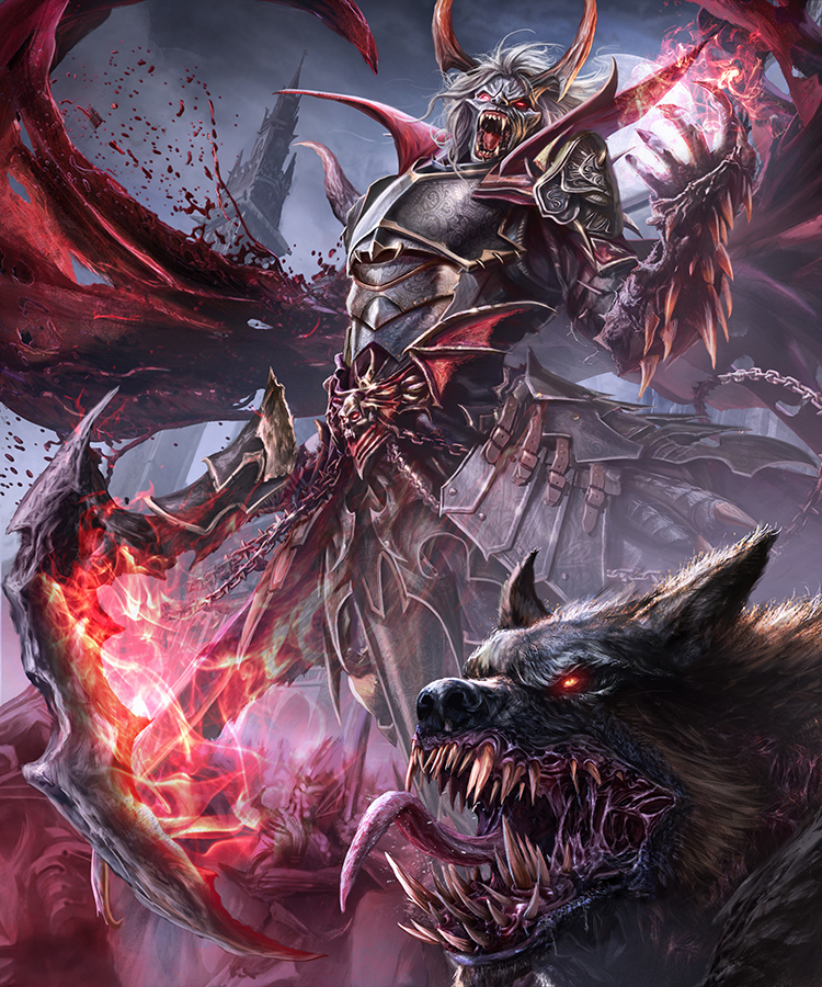 The vampire lord - evolution  Guilherme Batista wip 3