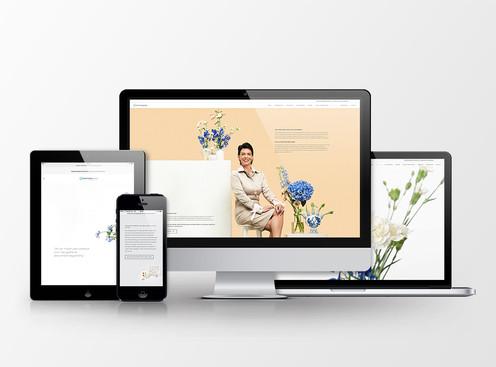 Een frisse nieuwe uitvaart website