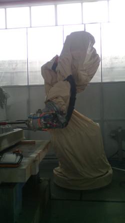 Чехол из оксфорда для робота