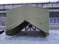 Палатка брезентовая, брезент СКПВ, плотн
