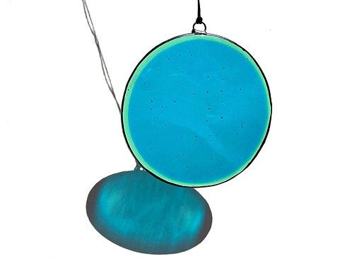Sea Green Circle Suncatcher, X-Large