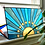 Thumbnail: Stained Glass Sunrise, Blue