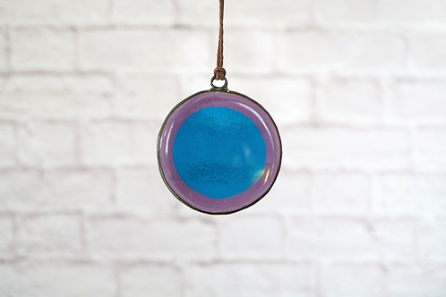 Purple and Blue Circle, Small