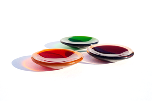Glass dish, by Laura Koss of Garden State Glasswork