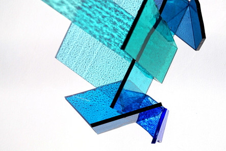 Blue Glass and Light