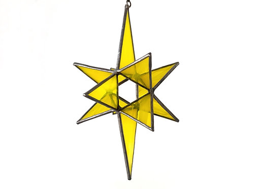 Moravian Star, Yellow