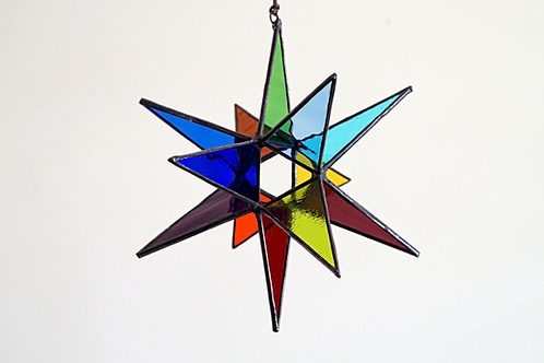 Moravian Star, Rainbow