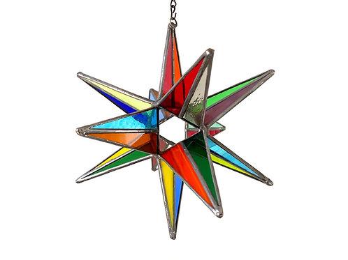 Moravian Star, Multicolored