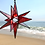 Thumbnail: Moravian Star, Wispy Red and Clear