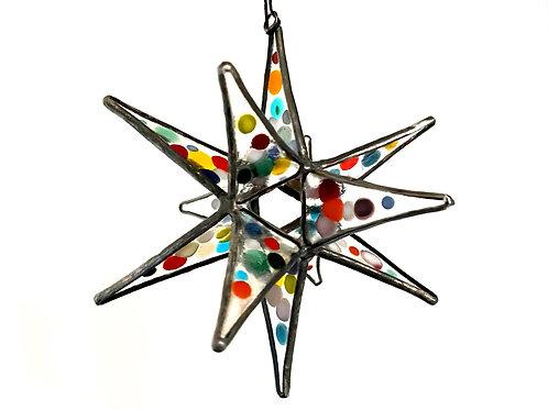 Moravian Star, Polka Dots