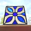Thumbnail: Stained Glass Suncatchers, White and Blue
