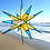 Thumbnail: Moravian Star, Yellow and Blue