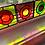 Thumbnail: Stained Glass Suncatcher - Purple, Orange, and Yellow