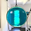 Thumbnail: Sea Green Circle Suncatcher, X-Large