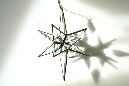 Moravian Star, Large Beveled