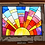 Thumbnail: Sunrise Stained Glass in Salvaged Window Frame