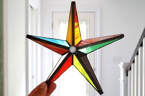 Barn Star, Multicolored