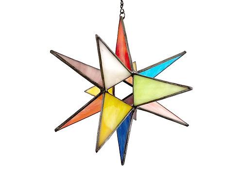 Moravian Star, Opaque Rainbow