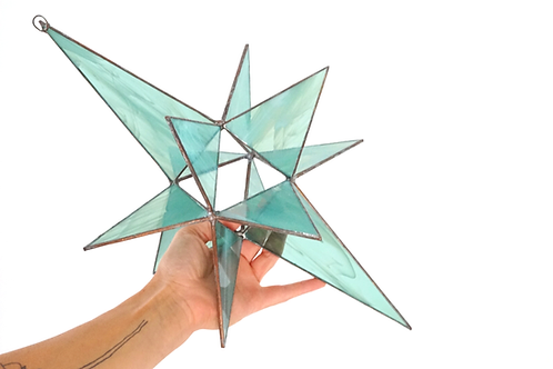 Moravian Star, Large Green