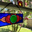 Thumbnail: Colorful Stained Glass Panel with Fused Glass Center