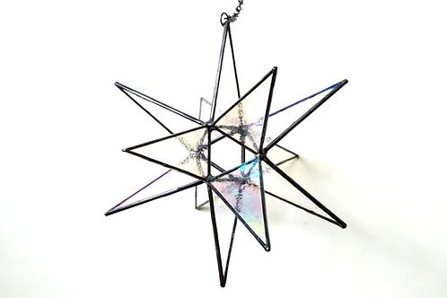 Moravian Star, Textured Iridescent