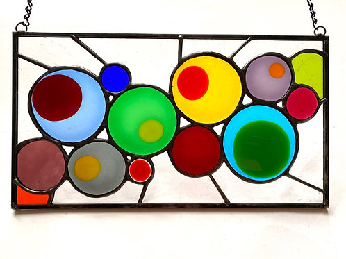 Colorful Dots Panel