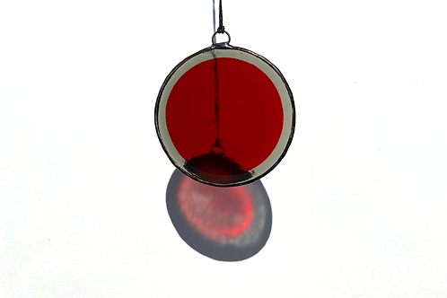 Red and Grey Circle, Large
