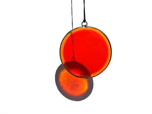 Orange and Tangerine Circle, Large