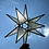 Thumbnail: Moravian Star, Iridescent Clear Textured