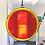 Thumbnail: Orange and Yellow Circle Suncatcher, X-Large
