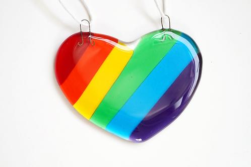 Custom Rainbow Heart for Lola