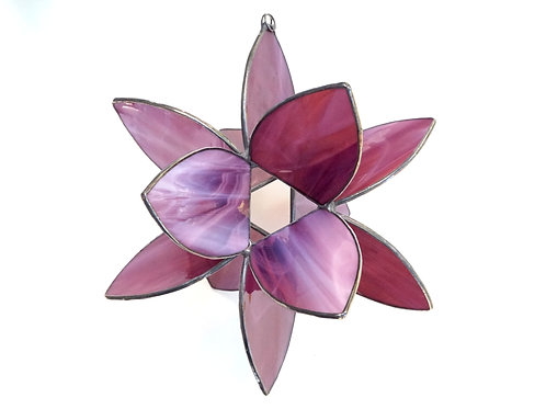 Flower Burst, Purple Wispy