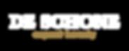 De Schone_Name Logo_Transparent Backgrou