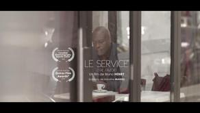 FILM LE SERVICE : NOMINE DANS DEUX FESTIVALS