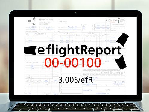 100 eflightReports