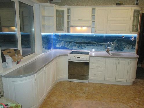 кухонный гарнитур по индивидуальным размерам.