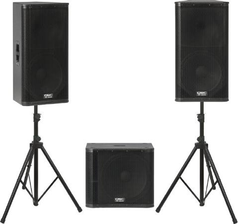 Qsc 152 and Sub set up